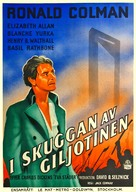 A Tale of Two Cities - Swedish Movie Poster (xs thumbnail)