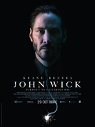 John Wick - French Movie Poster (xs thumbnail)