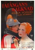 Becky Sharp - Swedish Movie Poster (xs thumbnail)