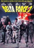 Delta Force 3: The Killing Game - French Movie Cover (xs thumbnail)