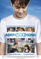 (500) Days of Summer - Turkish Movie Poster (xs thumbnail)