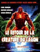 The Return of Swamp Thing - French DVD cover (xs thumbnail)