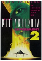 Philadelphia Experiment II - German poster (xs thumbnail)