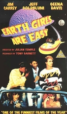 Earth Girls Are Easy - British VHS cover (xs thumbnail)