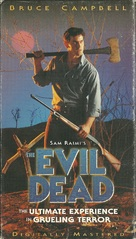 The Evil Dead - VHS cover (xs thumbnail)