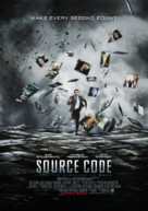 Source Code - British Movie Poster (xs thumbnail)
