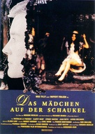 The Girl in a Swing - German Movie Poster (xs thumbnail)