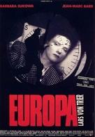 Europa - German Movie Poster (xs thumbnail)