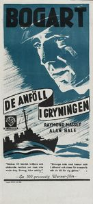 Action in the North Atlantic - Swedish Re-release poster (xs thumbnail)