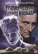 Frankenstein Created Woman - DVD cover (xs thumbnail)