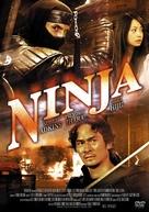 Ninja - Japanese DVD cover (xs thumbnail)