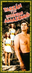 Tarzan and the Amazons - Spanish Movie Cover (xs thumbnail)