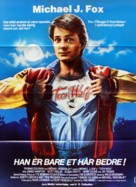 Teen Wolf - Danish Movie Poster (xs thumbnail)