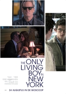 The Only Living Boy in New York - Dutch Movie Poster (xs thumbnail)