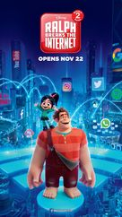 Ralph Breaks the Internet - Singaporean Movie Poster (xs thumbnail)