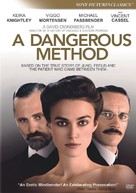 A Dangerous Method - DVD movie cover (xs thumbnail)