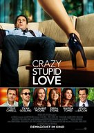 Crazy, Stupid, Love. - German Movie Poster (xs thumbnail)