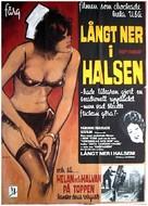 Deep Throat - Swedish Movie Poster (xs thumbnail)