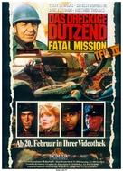 The Dirty Dozen: The Fatal Mission - German poster (xs thumbnail)