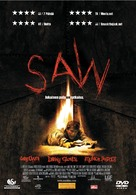 Saw - Finnish DVD movie cover (xs thumbnail)