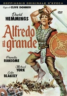 Alfred the Great - Italian DVD movie cover (xs thumbnail)
