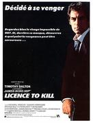 Licence To Kill - French poster (xs thumbnail)