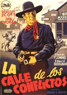 Abilene Town - Spanish Movie Poster (xs thumbnail)