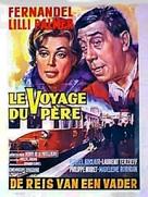 Le voyage du père - Belgian Movie Poster (xs thumbnail)