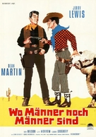 Pardners - German Movie Poster (xs thumbnail)