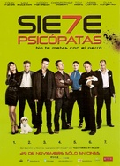 Seven Psychopaths - Argentinian Movie Poster (xs thumbnail)