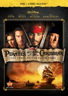 Pirates of the Caribbean: The Curse of the Black Pearl - Blu-Ray movie cover (xs thumbnail)