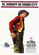 The Gunfight at Dodge City - Spanish Movie Poster (xs thumbnail)