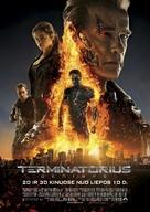 Terminator Genisys - Lithuanian Movie Poster (xs thumbnail)