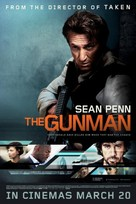 The Gunman - British Movie Poster (xs thumbnail)