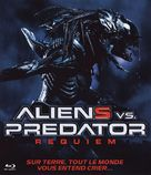 AVPR: Aliens vs Predator - Requiem - French Blu-Ray cover (xs thumbnail)