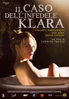 Il caso dell'infedele Klara - Italian Movie Poster (xs thumbnail)