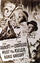 Abbott and Costello Meet the Killer, Boris Karloff - Movie Poster (xs thumbnail)