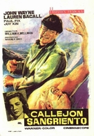 Blood Alley - Spanish Movie Poster (xs thumbnail)
