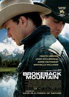 Brokeback Mountain - Norwegian Movie Poster (xs thumbnail)