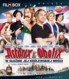 Astérix et Obélix: Au Service de Sa Majesté - Polish Blu-Ray cover (xs thumbnail)