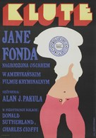 Klute - Polish Movie Poster (xs thumbnail)