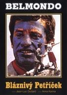 Pierrot le fou - Czech DVD movie cover (xs thumbnail)