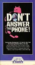 Don't Answer the Phone! - VHS cover (xs thumbnail)