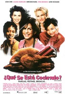 What's Cooking? - Spanish Movie Poster (xs thumbnail)