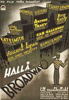 The Big Broadcast - Swedish Movie Poster (xs thumbnail)