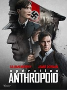 Anthropoid - French DVD movie cover (xs thumbnail)