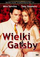The Great Gatsby - Polish DVD cover (xs thumbnail)