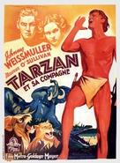 Tarzan and His Mate - Belgian Movie Poster (xs thumbnail)