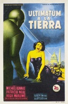 The Day the Earth Stood Still - Spanish Movie Poster (xs thumbnail)