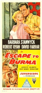 Escape to Burma - Australian Movie Poster (xs thumbnail)